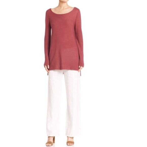 c01cc4f01a6a5 Eileen Fisher Tops - Eileen Fisher Woman 2X Rosewood Tencel Tunic A7